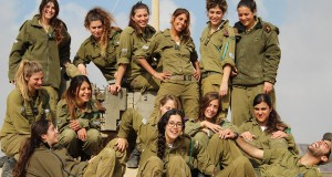 Israeli female soldiers troops  (1)