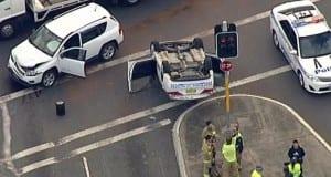 police car rolls