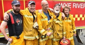 Vic fire fighters