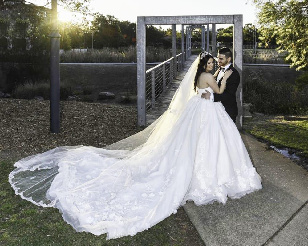 العروسان جواد وفالنتينا